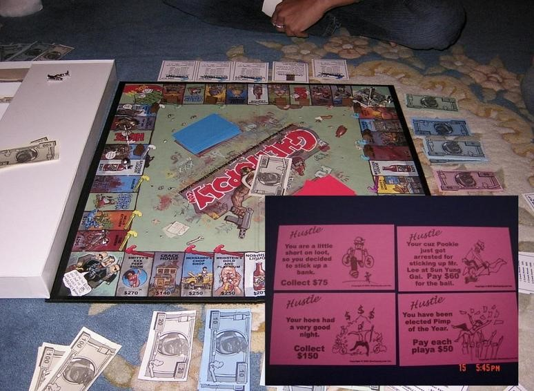 Ghettopoly bordspel