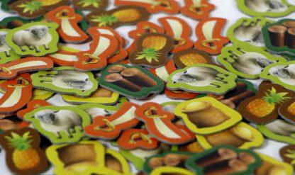 Grondstoffen van het bordspel de Kolonisten van Catan Junior Nederlands