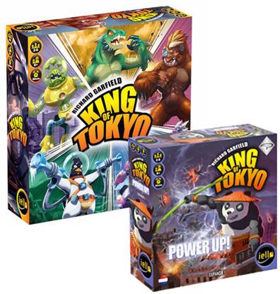 Productfoto van het King of Tokyo Bordspellen Bundel