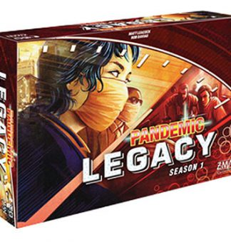 Productfoto van het bordspel Pandemic Legacy Season 1 Red Engels