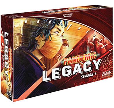 Productfoto van het bordspel Pandemic Legacy Season 1 Red Engels