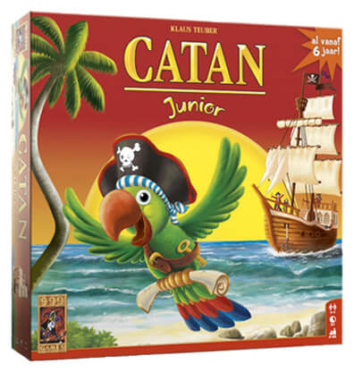 Productfoto van het bordspel de Kolonisten van Catan Junior Nederlands