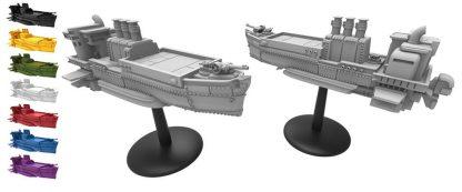 Afbeelding van de luchtschepen van Scythe The Wind Gambit