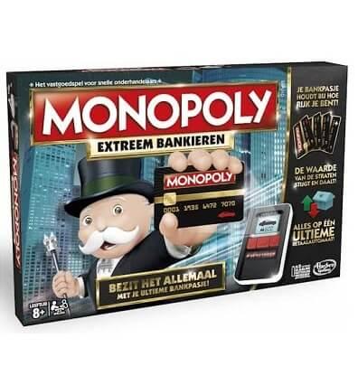 Productfoto van het bordspel Monopoly Extreem Bankieren