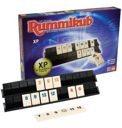 Productfoto van het bordspel Rummikub XP 6 Personen