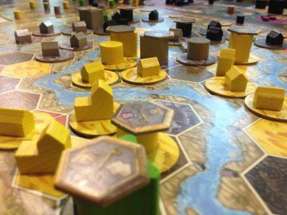 Sfeerimpressie van het bordspel Terra Mystica Engels