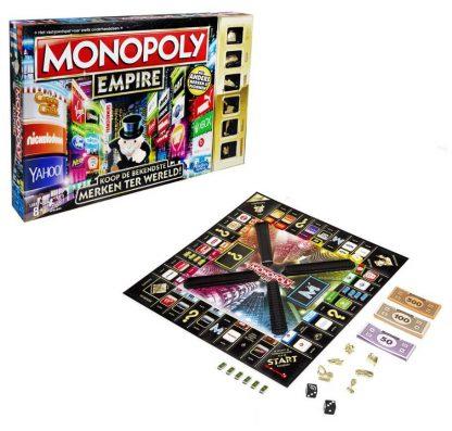 Doos en Speelbord van het bordspel Monopoly Empire