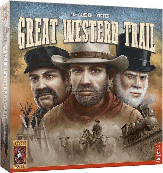 Productfoto van het bordspel Great Western Trail