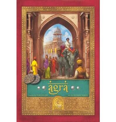 Afbeelding van de productfoto van het bordspel Agra