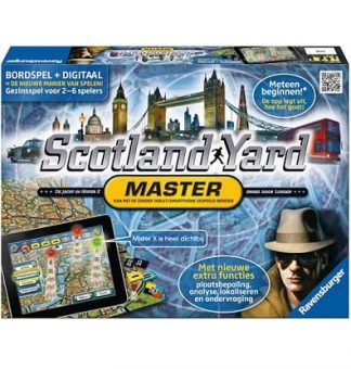 Productfoto van het bordspel Scotland Yard Master