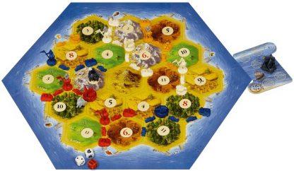 Afbeelding van het speelbord van Steden en Ridders