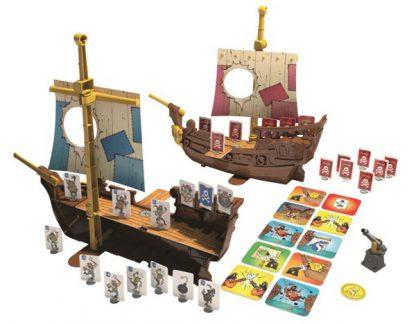 Afbeelding van het speelbord van Stratego Pirates