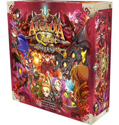 Productfoto van het bordspel Arcadia Quest Inferno