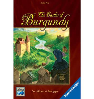 Productfoto van het bordspel Castles of Burgundy