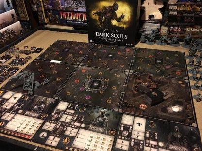 Speelbord van het bordspel Dark Souls The Board Game