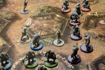 Spelimpressie van het bordspel Conan Miniatures Boardgame