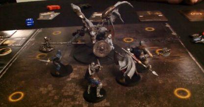 Spelimpressie van het bordspel Dark Souls The Board Game