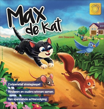 Productafbeelding van het bordspel Max de Kat