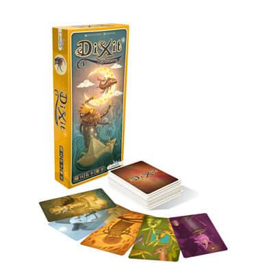 Dixit Daydreams Uitbreiding Bordspel Doos En Speelkaarten