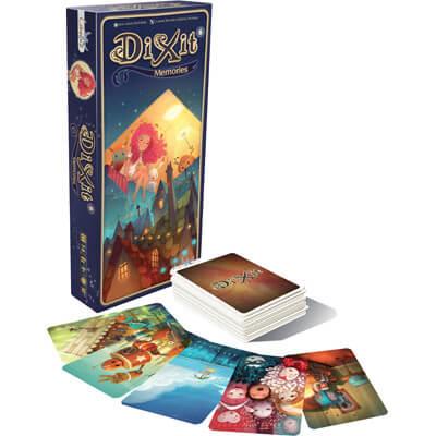 Dixit Memories Uitbreiding Bordspel Doos en Speelkaarten