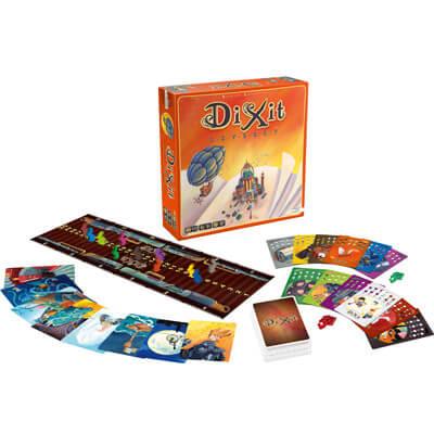 Dixit Odyssey Bordspel Doos En Spelonderdelen 2