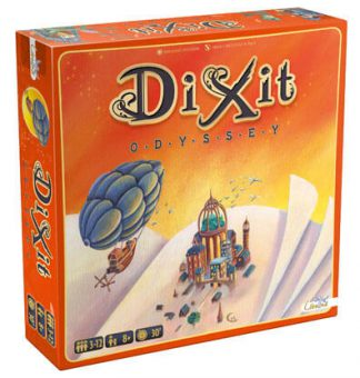 Dixit Odyssey Bordspel Productfoto