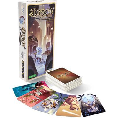 Dixit Revelations Uitbreiding Bordspel Doos en Speelkaarten