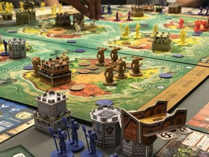 Heroes of Land Air and Sea Bordspel Spelimpressie