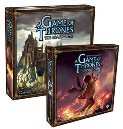 Productfoto van het Game of Thrones Bordspel Bundel (Engels)