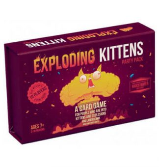 Productfoto van het bordspel Exploding Kittens Party Pack
