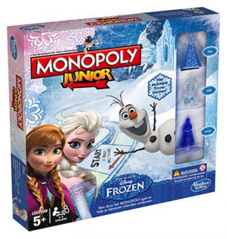 Productfoto van het bordspel Monopoly Junior Disney Frozen