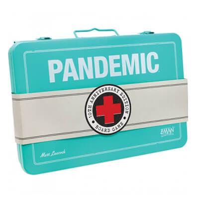 Productfoto van het bordspel Pandemic 10-jarige Jubileumeditie