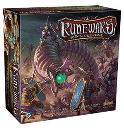 Runewars Miniatures Game Bordspel Productfoto