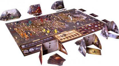 Speelbord en toebehoren van het Game of Thrones Bordspel Bundel (Engels) (2)