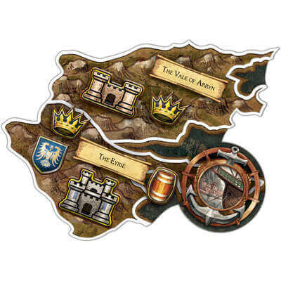 Speltegel van het bordspel Game of Thrones Boardgame Bordspel Bundel (Engels)