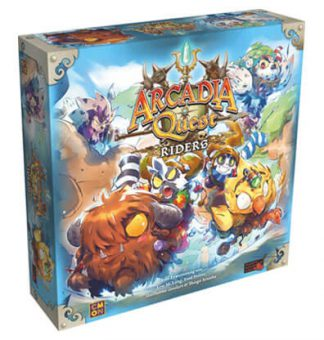 Arcadia Quest Riders Bordspel Productfoto