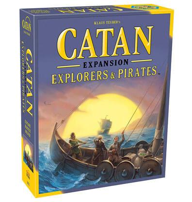 Catan Explorers & Pirates Expansion Bordspel Productfoto