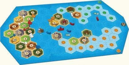 Catan Explorers & Pirates Expansion Bordspel Speelbord