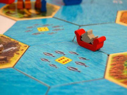 Catan Explorers & Pirates Expansion Bordspel Spelimpressie