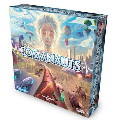 Comanauts Bordspel Productfoto