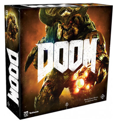 Doom the Boardgame Bordspel Productfoto