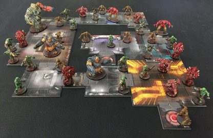 Doom the Boardgame Bordspel Spelimpressie