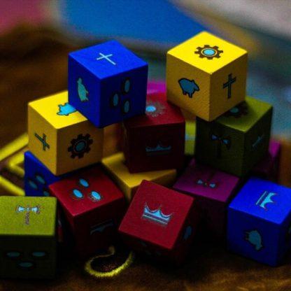Feudum Kickstarter Bordspel Onderdelen