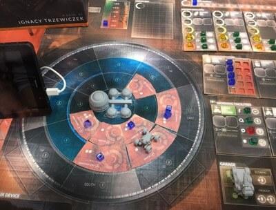 First Martians Adverntures of the Red Planet Sfeerimpressie Met Tablet