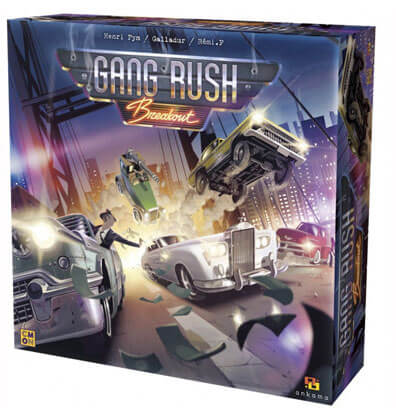 Gang Rush Breakout Bordspel Productfoto