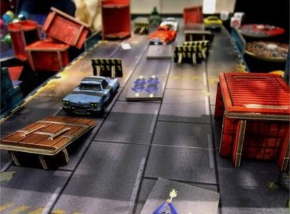 Gang Rush Breakout Bordspel Sfeerimpressie