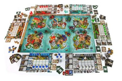 Heroes of Land Air and Sea - Order and Chaos Bordspel Spelonderdelen