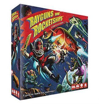 Rayguns and Rocketships Bordspel Productfoto