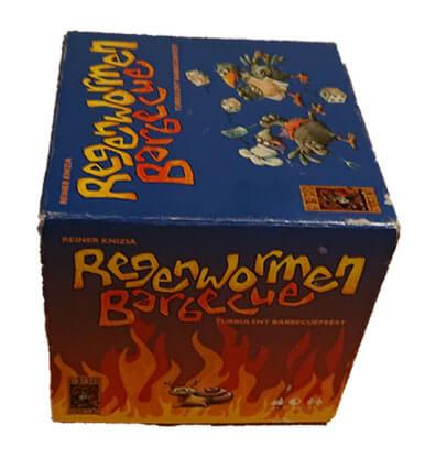 Regenwormen Barbecue Bordspel Huren