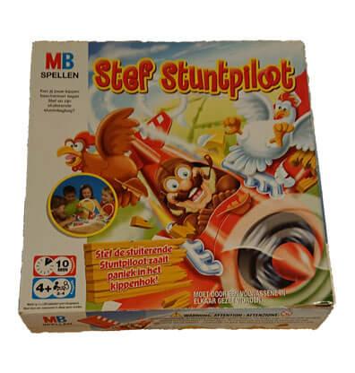 Stef Stuntpiloot Bordspel Huren